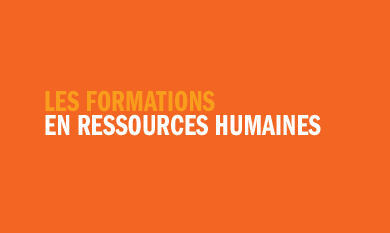 Les formations en ressources humaines